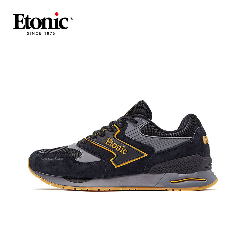 ETONIC Vintage Running Shoes Mens Sneakers Air Cushion Light Sports Shoes Man Outdoor Breathable Athletic Sneakers Max Size 44