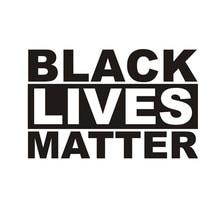 BLACK LIVES MATTER Sticker Waterproof Self-Adhesive Car Window Sticker for Laptop Wall Goodde Auto Sticker