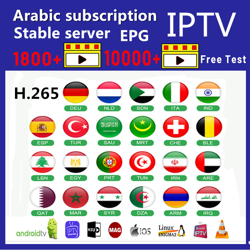 IPTV Spain Arabic Morocco Netherlands M3U IPTV <font><b>Belgium</b></font> Germany Spain Code For Smart IPTV Android No APP or channels Included image