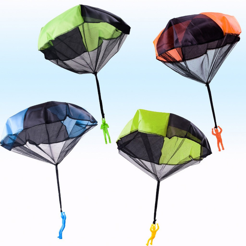 Hand Throwing Mini Soldier Parachute Funny Toy Kid Outdoor Game Play Educational Kids Toys For Children Kids Toys For Children
