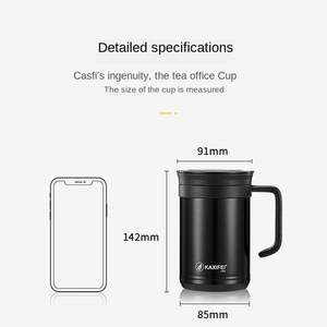 Image 5 - 2020 Stainless Steel Vacuum Flasks Bottle Thermos for Tea Thermos Tea Mug Cup Tea Infuser Bottle 500 Ml Thermos Mug Thermal Cup