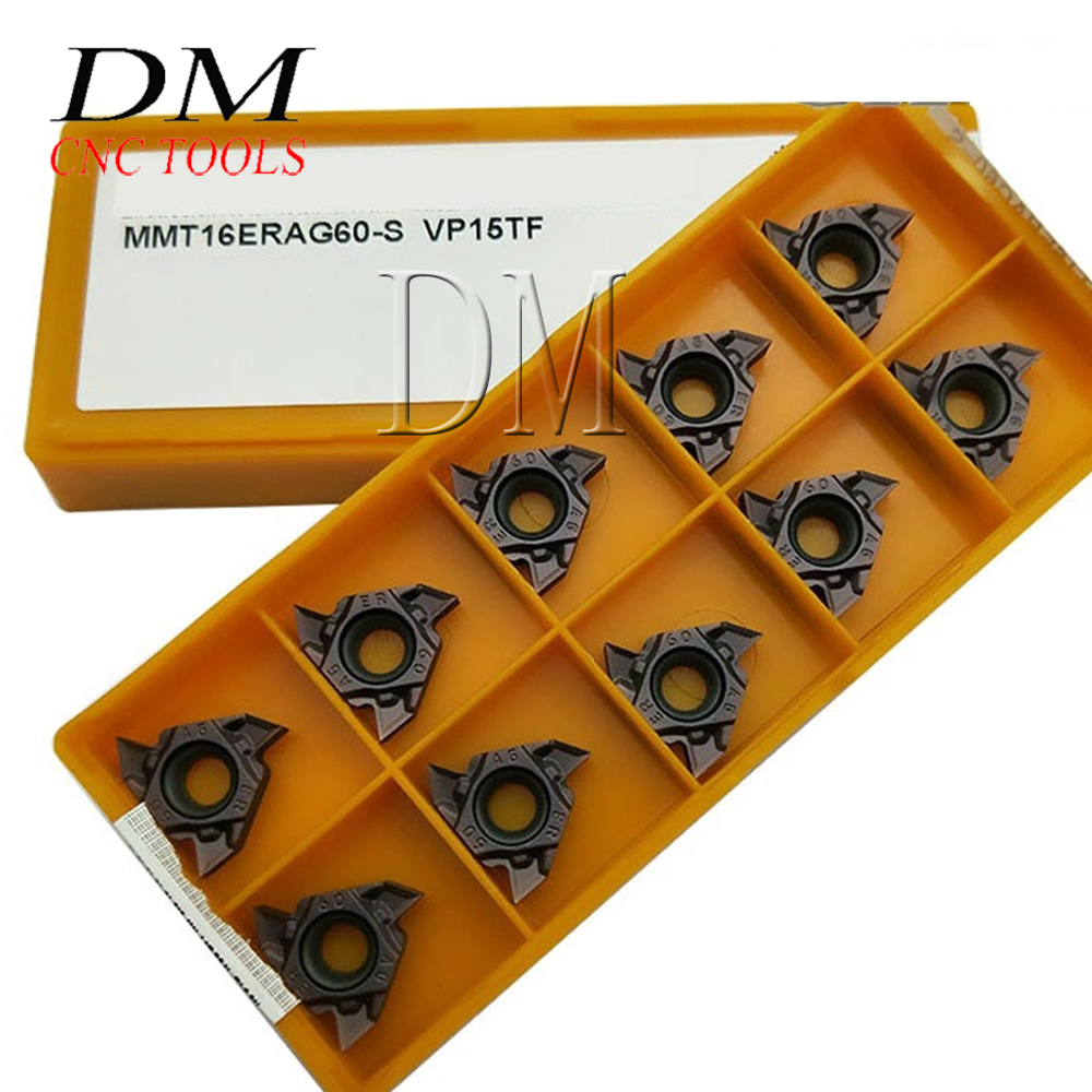 10p MMT11ER AG60 US735 indexable inserts boxes machine tool For Stainless Steel