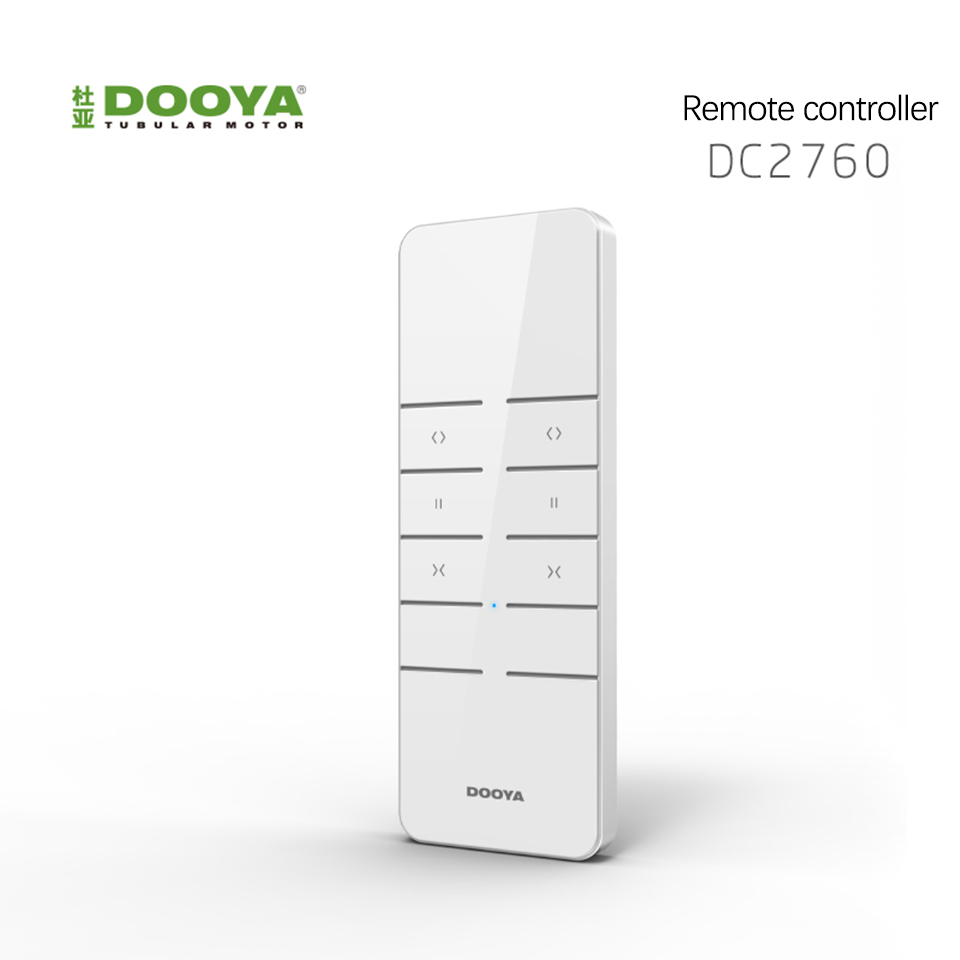 Original Dooya Remote Controller DC2760/DC2700 For Dooya Electric Curtain Motor Curtain KT82TN/DT52E/DT320E Accessories