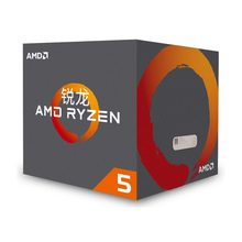 New amd ryzen 5 1500X cpu 3.5GHz Quad Core Eight Thread 65W TDP processador Socket AM4 Desktop pack with sealed box radiator fan