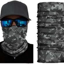 Camouflage tactique en plein air foulard magique équitation en plein air masque multifonctionnel protection solaire col sans couture étoile camouflage p