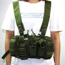 Tactical Military Equipment Vest Lightweight Combat Carrier Chest Rig CS Hunting Airsoft Vest Paintball Magazine Pack Pouch molle tactical vest airsoft combat vest w gun holster magazine pouch strike vest outdoor cs hunting clothes