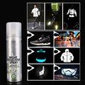 Noite reflexivo spray corrida bicicleta fluorescência pintura anti acidente marca de segurança