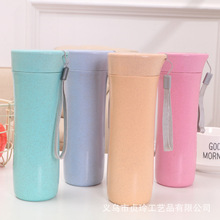 Environmentally friendly plastic wheat straw incense cup hand