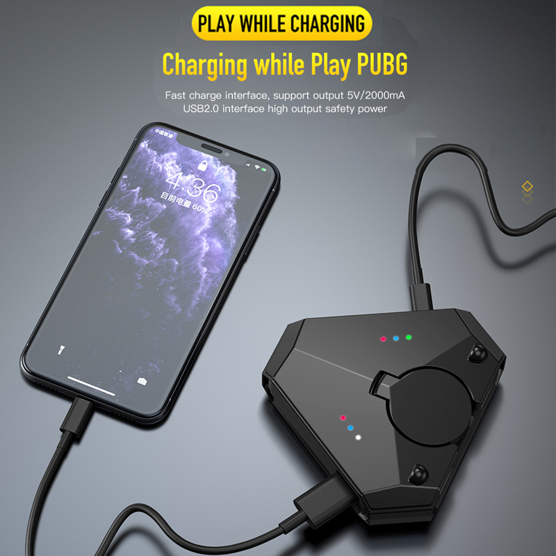 Gamepad Pubg Mobile Bluetooth 5.0 Android PUBG Controller Mobile Controller Gaming Keyboard Mouse Converter For IOS iPad to PC 2