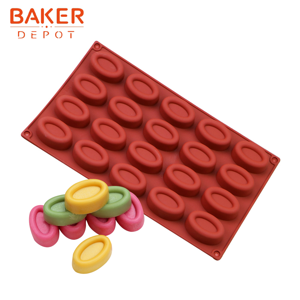 3D Pyramid Cake Jelly Cookies Soap Mold Chocolate Baking Mould Tray Wax Ice Cube