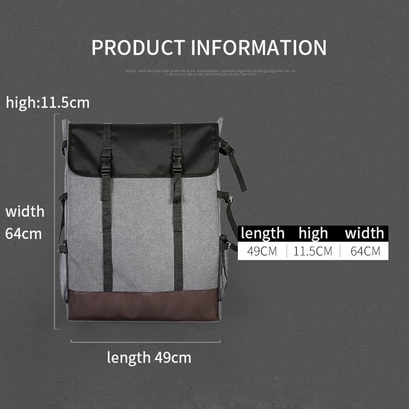 Image 2 - 1 Piece Fashion 4K Canvas Portable Sketch Painting Board Large Capacity Travel Shoulder Sketchpad Drawing BagArt Sets   -