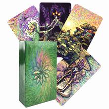 Cosma Visions Oracle Tarot zestaw kart które ułatwią twoją duszę pierwsza edycja talii Prisma Light Visions z książką PDF tanie tanio CN (pochodzenie)