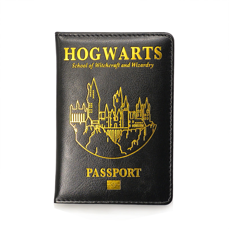 HP Hogwarts Passport Cover Holder Gryffindor Ravenclaw With Card Case Passport Cover Hogwarts
