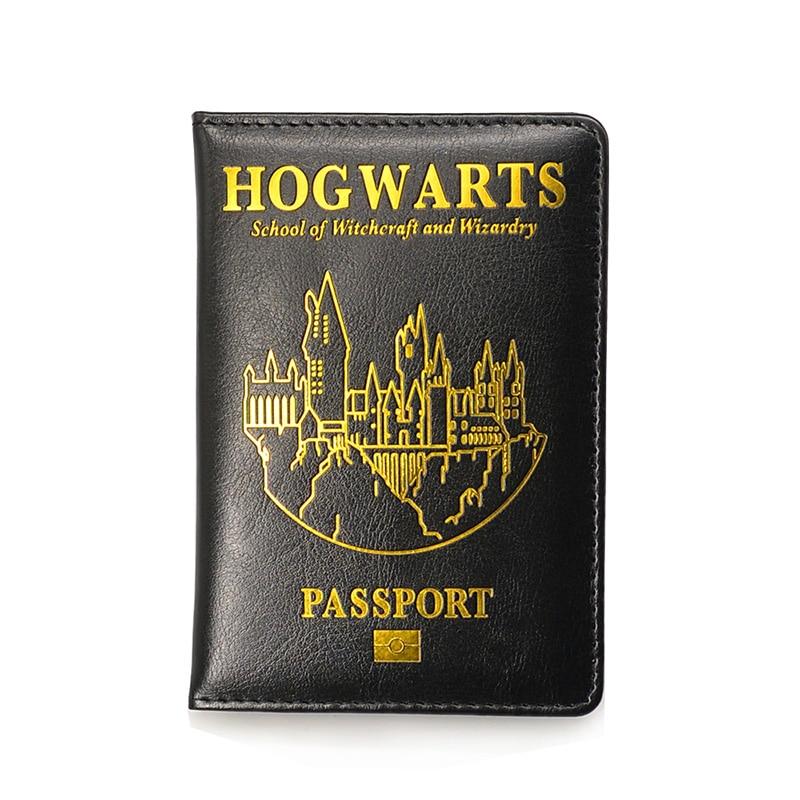 HP Hogwarts Passport Cover Holder Gryffindor Ravenclaw With Card Case Passport Cover Hogwarts