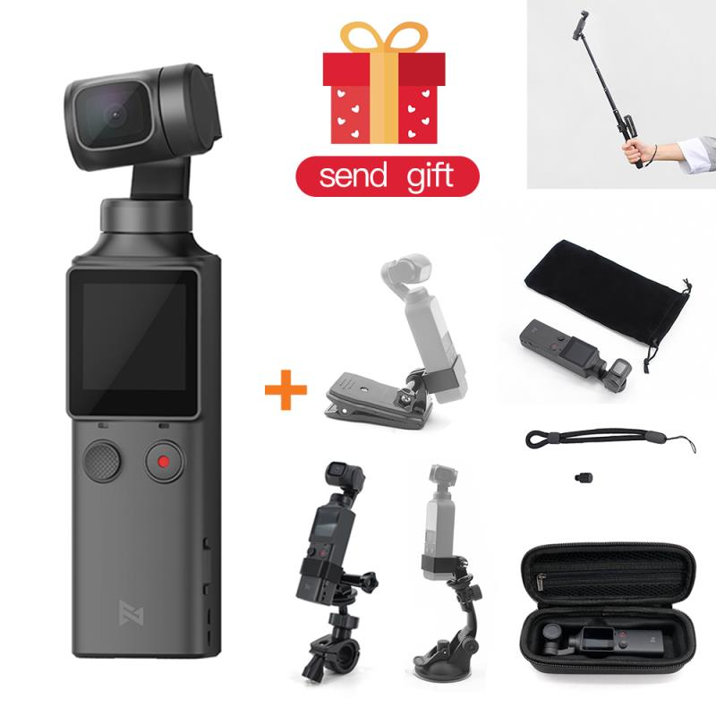 FIMI Plam <font><b>Gimbal</b></font> <font><b>4K</b></font> HD 3-Axis Handheld <font><b>Gimbal</b></font> <font><b>Camera</b></font> Stabilizer 128 Wide Angle Smart Track Built-in WiFi Handheld <font><b>Camera</b></font> image