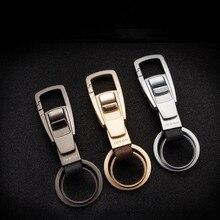Motorcycles Keychain Zinc Alloy Car Key Rings Pendant for Mercedes Benz W205 W211 W203 W204 W168 W210 Holder Business