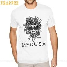 T-shirt Medusa à manches courtes pour homme, vêtement de marque officiel, à prix réduits