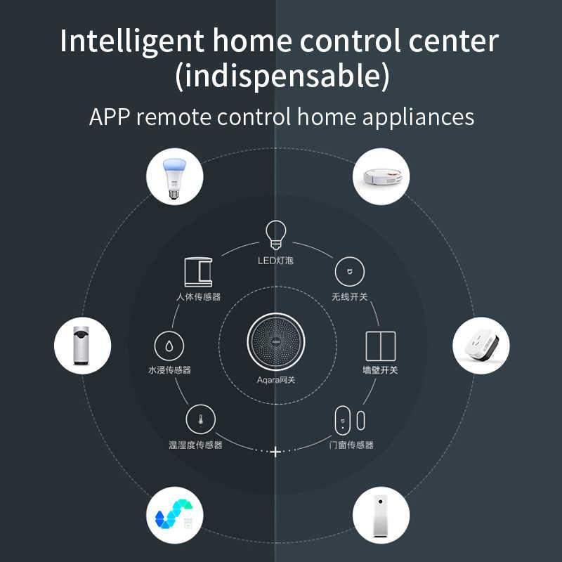 Aqaraハブスマートゲートウェイ 3 zigbeeバージョンxiaomi mijiaスマートホームドア窓センサーの仕事homekit miホームアプリ