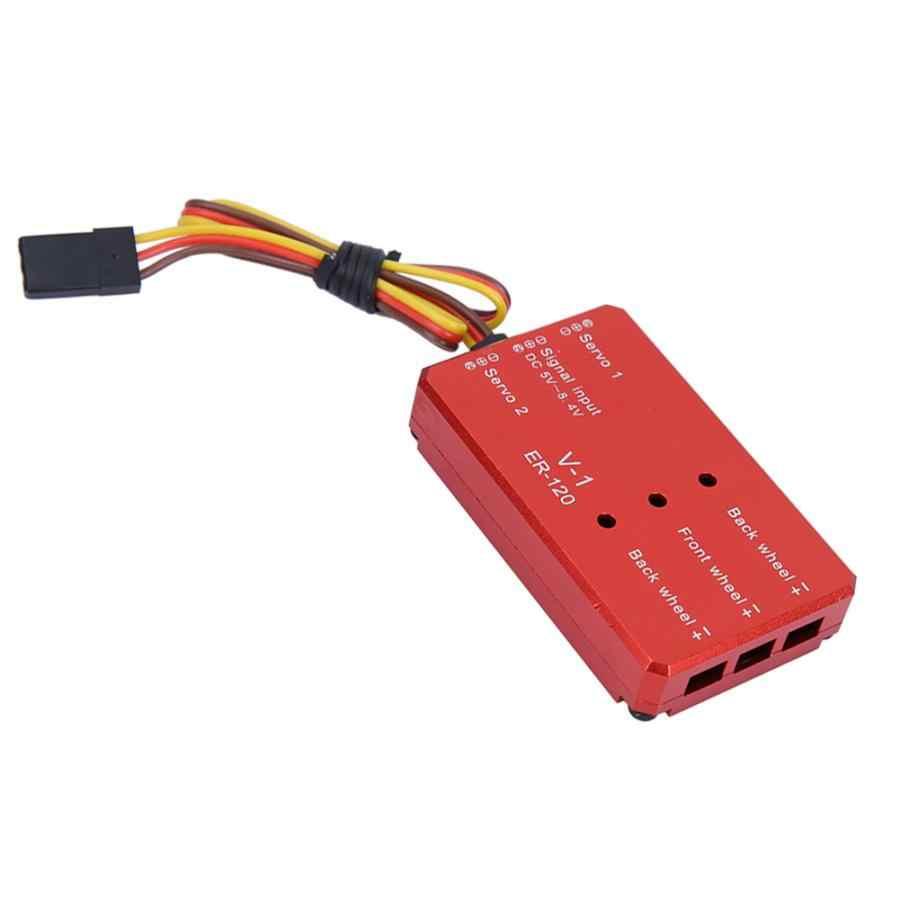 Controllore Carrello di Atterraggio Retrattile Sistema Retrattile in Lega Elettrica JP Hobby ER-120 per Accessorio Ala Fissa RC