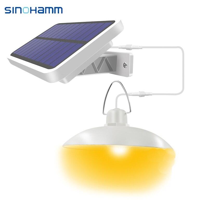 Sun Light Indoor Outdoor Solar Lamp 26650 Lithium Battery 3.2V 5500mAh Pendant Light Renewable Solar Panel And Light With Line