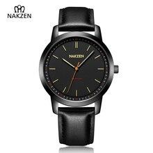 Luxury Brand Mens Watches Leather Strap Quartz Waterproof Watch Fashion Man Clock Style Men Dress Watch Relogio Masculino цена