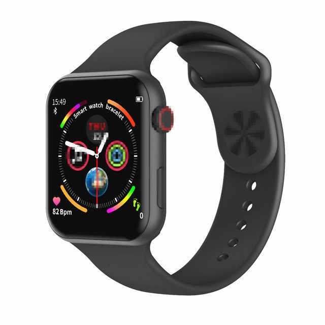 F10 Smartwatch IP68 กันน้ำ Heart Rate Monitor บลูทูธฟิตเนส Tracker Men สำหรับ iPhone Xiaomi Androidphone