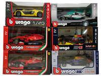 BBurago 2018 F1 1:43 RedBull W05 W07 SF71H SF70H SF16 RB13 RB14 2019 SF90 Diecast Racing Model Car Toy Cars