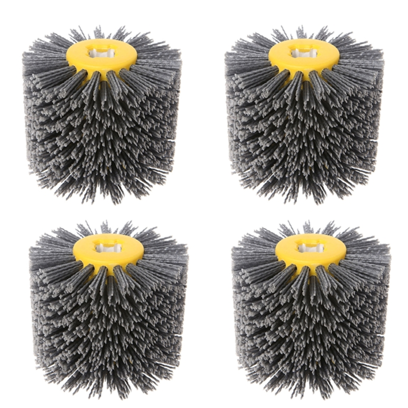 Wire Drawing Machine Grinding Wire Drawing Wheel Polishing Brush Polishing Wheel Brush Roller Bristle Brush Grit Brush #80 #120