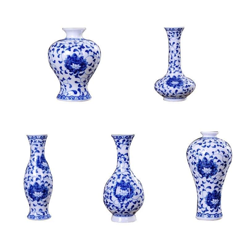 Vintage Wohnkultur Keramik Vasen Chinesische Blau Und Weiß Porzellan EIN Muster