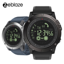 New Zeblaze VIBE 3 Flagship Rugged Smartwatch 33 month Standby Time 24h All Weather Monitoring Smart Watch For IOS Android Watch