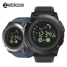 新しいzeblazeバイブ3旗艦頑丈なスマートウォッチ33 月スタンバイ時間24h全天候監視スマートウォッチios androidの腕時計