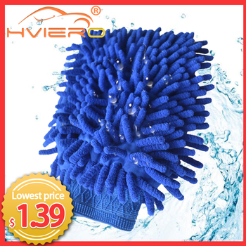 Microfiber Chenille Car Styling Car Motorcycle Wash Vehicle Auto Cleaning Mitt Glove equipment Car detailing Cloths Home Duster