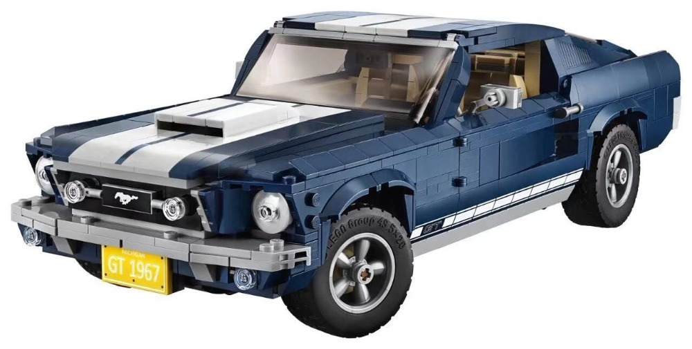 Lepining Technic 21047 GT500 1967 Creator Expert Ford Mustang 10265 Building Blocks Bricks DIY Toy Christmas Gift