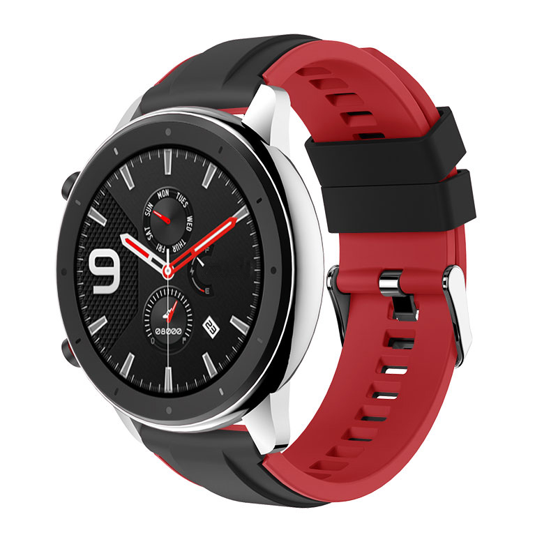 For Huami Amazfit GTR 47MM Silicone Watch Band Men Women Sport Smart Watch Strap For Amazfit Stratos 2 2S