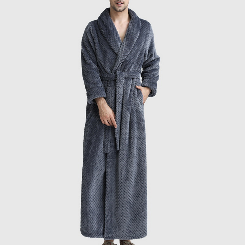 Cysincos Robe Pajamas Kimono Fleece Lightweight Flannel Soft Absorbent Spa Coral Confrot