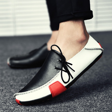 Comfortable Casual Shoes Men Autumn Moccasins Slip On Driving Shoe Male Italian Loafers Leather Shoes Mens Flat Footwear 2019 new summer genuine leather slip on shoes men casual breathable mesh shoes men loafers mens sneakers casual loafers men footwear