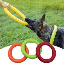 Pet discos de vôo anel de treinamento do cão extrator resistente mordida flutuante brinquedos do cão jogo interativo playing products supply