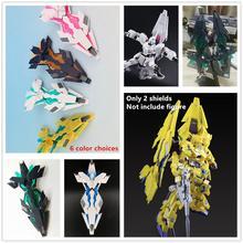 EffectsWings EW DE โล่สำหรับ Bandai 1/144 RG HG RX 0 Unicorn Banshee Phenex GUNDAM 6 สีเลือก DE013