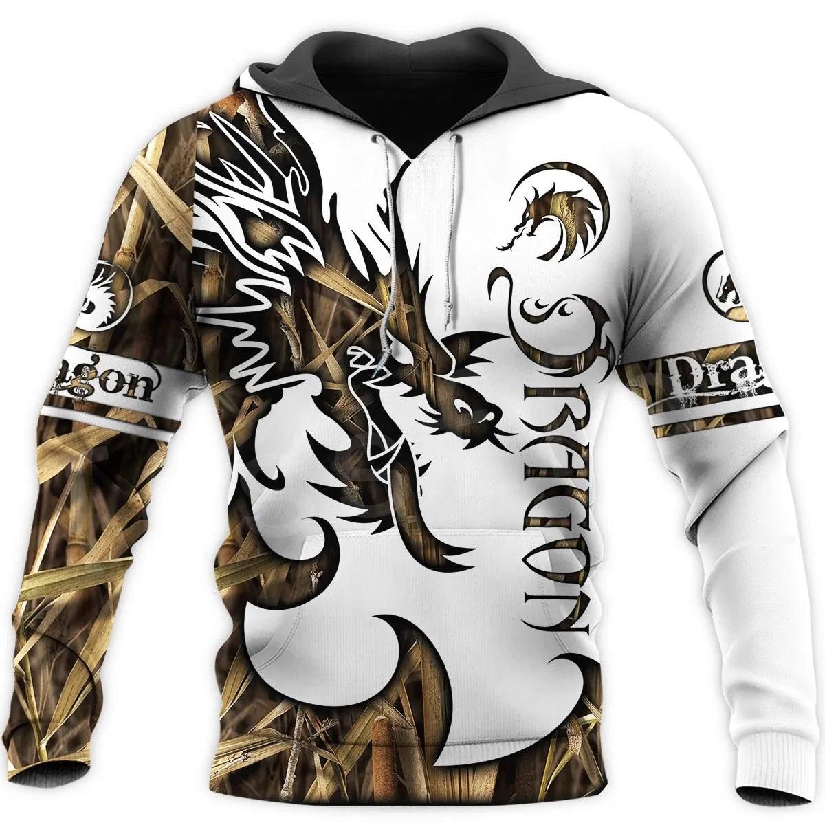 Tessffel Animal Art Fly Dragon Symbol Tattoo Unisex 3DPrint Tracksuit Newfashion Streetwear Zipper/Sweatshirts/Hoodies/Jacket 17