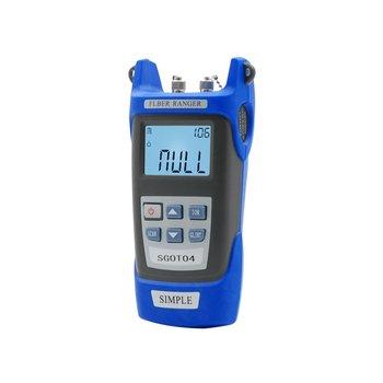 Handheld Optical Fiber Breakpoint Detector to Test a Fiber Link Node Length and Fault Location