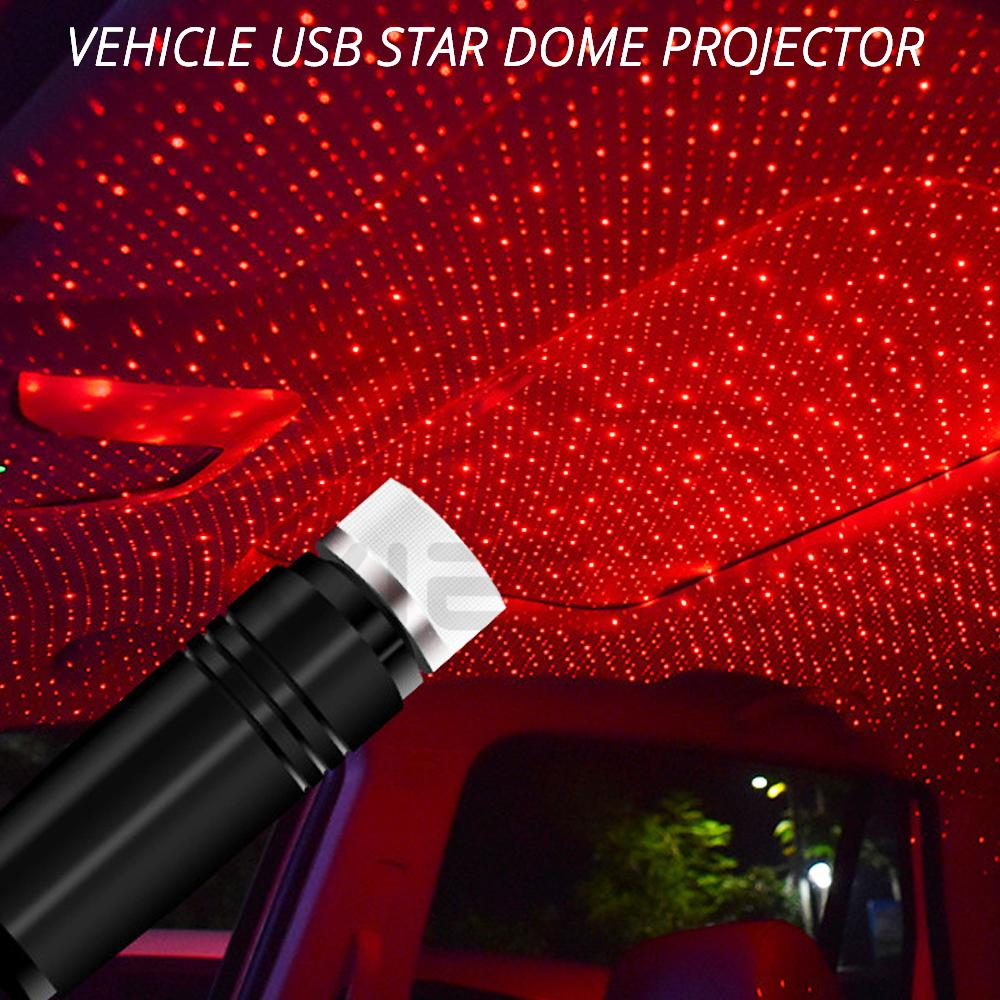 Convenient Usb Star Ceiling Light Laser Projection Decorative Light  Led Atmosphere Roof Full Of Stars Interior Room Home
