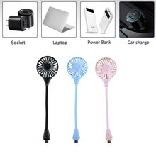 цена на 3 Speed Flexible USB Cooling Fan With Switch For Notebook Laptop Computer Powerbank USB Charger