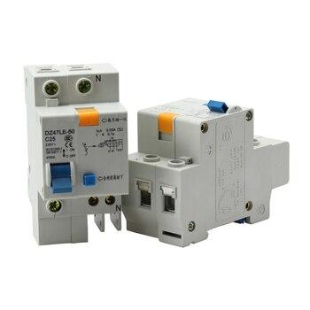 Mini Circuit Breaker 6A/10A/16A/20A/25A/32A/40A/50A/63A TPNL DPNL 230V 1P+N Residual Current Circuit Breaker Leakage Protection