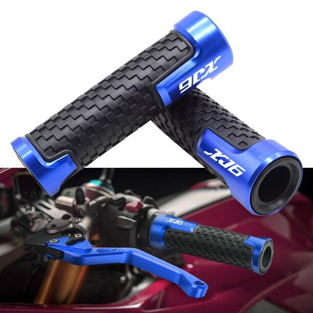 """Motorrad 7/8 """"22mm Zubehör Lenker Grip Griff Bar Motorrad Hand Für YAMAHA XJ6 XJ600 S DIVERSION XJ 600 S DIVERSION"""