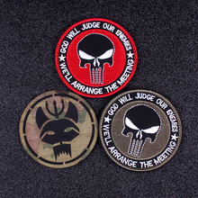 Pulaqi Seal Team Velcros Patch Punisher Patches For Clothing  Embroidered Military Patches Stripes Tactical flag navy seal patch pulaqi camo seal team velcros patch army military magic patch stripes fabric navy seals patches for clothing badges appliques