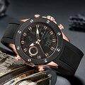 GOLDENHOUR Luxus Marke Uhr Mode Sport Männer Armbanduhr Automatische Digitale Armee Militär Uhren Uhr Relogios Masculinos-in Quarz-Uhren aus Uhren bei