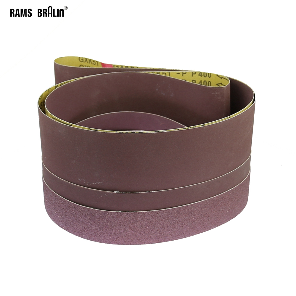 1 Piece 2000 * 50/75/100/150 Mm Abrasive Sanding Belts Wood Soft Metal Plastic Coarse Grinding  To Fine Polishing