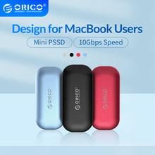 Zewnętrzny dysk twardy ORICO iMatch SSD 1TB 500GB 250GB M.2 NVME Mini przenośny dysk SSD 10 gb/s dla użytkowników macbooków