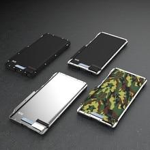 R JUST żelaza człowiek odporny na wstrząsy uchwyt pokrywy Samsung Galaxy Note 10 10 Plus stali nierdzewnej etui z klapką do Galaxy Note10 Plus Shell capa Fundas