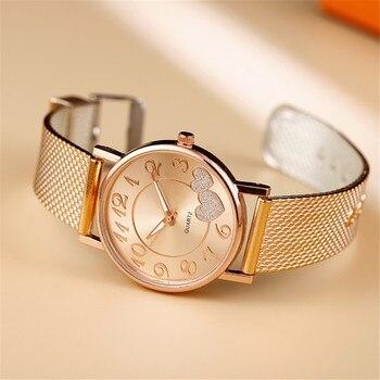 Последние Лучшие Часы повседневные женские наручные часы с ремешком-сеткой Wild Lady простой подарок relojes para mujer Прямая поставка